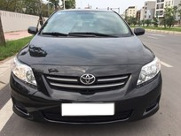 Bán xe Toyota Corolla 1.6 XLI đời 2010, màu đen, xe nhập