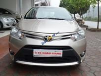 Bán Toyota Vios E, 1.5MT năm 2014, màu vàng số sàn giá cạnh tranh