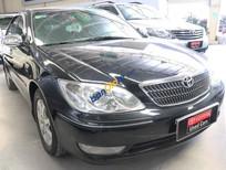 Cần bán Toyota Camry 3.0V đời 2004, màu đen