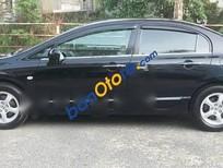 Bán ô tô Honda Civic 1.8 đời 2010, màu đen, giá tốt