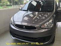 Bán Mirage màu xám, xe mirage nhập khẩu nguyên chiếc, giá xe Mirage cực sốc tại Đà Nẵng
