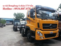 Bán xe tải Dongfeng 4 chân 17.9 tấn – xe tải Dongfeng 4 chân 17T9 (17.9 tấn) trả góp