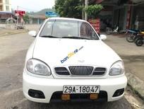 Bán xe Daewoo Lanos LX sản xuất 2004, màu trắng