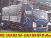 Xe tải Veam VT340S 3.49 tấn thùng dài 6m2, xe Veam VT340S 3t5 động cơ Hyundai có máy lạnh