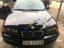 Bán BMW 325i đời 2000, màu đen, xe độ an toàn cao, chạy cao tốc 140 km/h êm ru