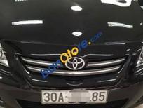 Bán xe cũ Toyota Corolla Altis 1.8G đời 2009, màu đen chính chủ, giá 590tr