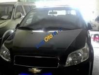 Bán Chevrolet Aveo LT đời 2015, màu đen