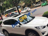 Bán Mazda CX 5 năm 2014, màu trắng, xe còn tốt