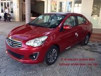 Bán ô tô Mitsubishi Attrage 1.2CVT 2018, màu đỏ, nhập khẩu, giá tốt nhất tại Quảng Trị