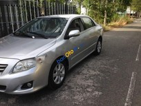 Cần bán lại xe Toyota Corolla Altis 1.8MT đời 2009, màu bạc giá cạnh tranh
