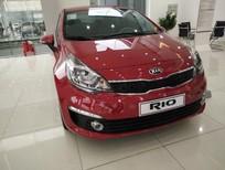Cần bán xe Kia Rio AT 2017, màu đỏ, nhập khẩu nguyên chiếc