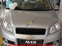 Bán Chevrolet Aveo 1.5 LT đời 2017, màu bạc