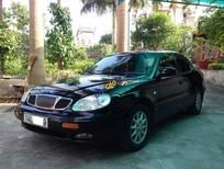 Xe Daewoo Leganza năm 2003, màu đen, xe nhập xe gia đình