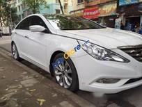 Cần bán lại xe Hyundai Sonata AT sản xuất 2010, màu trắng số tự động