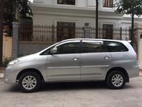 Cần bán gấp Toyota Innova 2.0G 2009, màu bạc, xe gia đình dùng