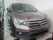 Cần bán xe Honda CR V 2.4 AT đời 2013, màu nâu