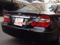 Cần bán lại xe Toyota Camry 3.0V đời 2003, màu đen số tự động