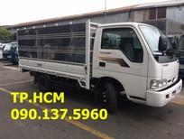 Tp. Hcm K165 2T4 2017, màu trắng, giá chỉ 368 triệu thùng mui bạt tôn lạnh