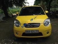 Bán Kia Morning MT sản xuất 2009, màu vàng số sàn