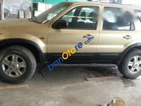 Cần bán Ford Everest sản xuất năm 2002, màu vàng