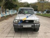 Bán xe Hyundai Galloper MT đời 2003, màu xám