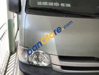 Cần bán xe Toyota Hiace MT sản xuất 2008, màu bạc, 350 triệu