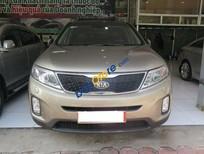 Auto Đại Tín bán xe Kia Sorento AT đời 2014, màu vàng