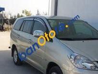 Bán ô tô Toyota Innova MT sản xuất 2008, màu bạc đã đi 150000 km
