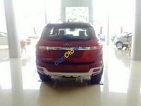 Cần bán Ford Everest Titanium 2.2L đời 2017, màu đỏ, nhập khẩu nguyên chiếc