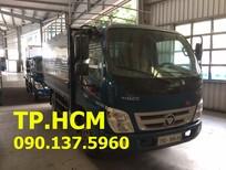 TP. HCM Thaco Ollin 500B xe tải 5 tấn, màu xanh lục, nhập khẩu nguyên chiếc, giá tốt