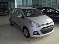 Cần bán xe Hyundai Grand i10 đời 2016, màu bạc, nhập khẩu chính hãng, giá tốt