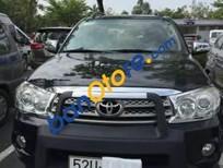 Bán xe cũ Toyota Fortuner V đời 2009, màu đen xe gia đình, 590 triệu