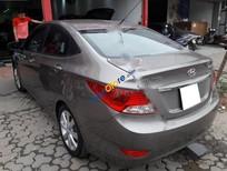 Cần bán gấp Hyundai Accent 1.4AT đời 2012, màu xám, nhập khẩu nguyên chiếc số tự động