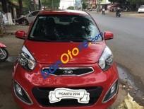 Bán xe cũ Kia Picanto S đời 2014, màu đỏ xe gia đình, giá 350tr