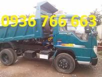 Bán xe ben 3 khối 3.5 tấn tại Hải Phòng Thaco FLD345C 0936766663