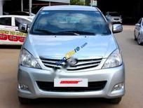 Cần bán gấp Toyota Innova G 2.0MT đời 2009, màu bạc số sàn