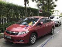 Bán xe Honda Civic năm sản xuất 2013, màu đỏ chính chủ, 670tr