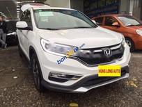 Bán Honda CR V 2.4AT 2015, màu trắng, xe đẹp