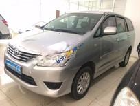 Cần bán Toyota Innova G đời 2013, màu bạc, giá tốt
