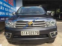 Cần bán gấp Toyota Fortuner 2.7V 2011, màu xám