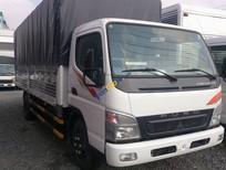 Bán Mitsubishi Canter 8.2 HD năm 2016, màu trắng, nhập khẩu