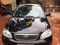 Bán gấp Toyota Corolla 1.3 J năm sản xuất 2003, màu đen, 235 triệu
