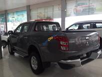 Cần bán xe Mitsubishi Triton 4x2AT sản xuất 2017, màu xám, nhập khẩu. có xe giao ngay hỗ trợ trả góp 80%