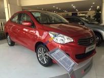 Bán Mitsubishi Attrage CVT đời 2017, màu đỏ, nhập khẩu, giá tháng 4 cực mềm