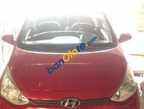 Chính chủ bán ô tô Hyundai i10 MT đời 2014, màu đỏ