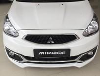 Bán ô tô Mitsubishi Mirage 2016, màu trắng, xe nhập , Lh Quang 0905596067,hỗ trợ vay nhanh , thủ tục nhanh chóng