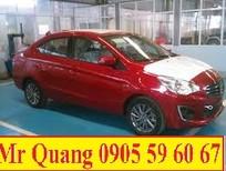 Cần bán xe Mitsubishi Attrage 2017 màu đỏ, nhập khẩu nguyên chiếc, giá tốt. LH Quang 0905596067