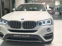Bán xe BMW X4 xDrive20i 2017, màu trắng, nhập khẩu nguyên chiếc. Giá xe BMW X4 2017 mới nhất