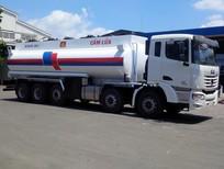 Xe Bồn xăng dầu C&C 5 chân 25 khối,Xi téc xăng dầu 25m3,Xe bồn C&C 25000 lít trả góp toàn quốc