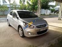 Cần bán lại xe Hyundai Accent 1.4 AT đời 2012, màu bạc, nhập khẩu số tự động, 485 triệu
